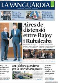 Portada de La Vanguardia - Català (España)