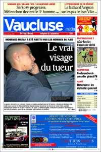 Portada de Vaucluse (Francia)