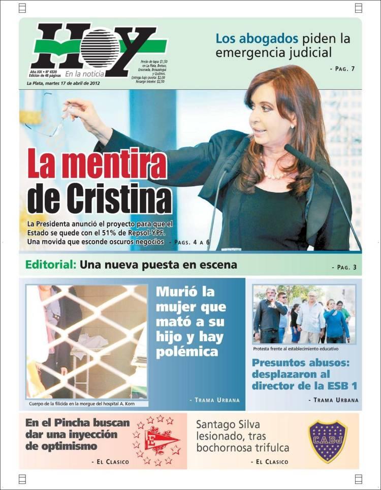 Ultimas noticias de venezuela hoy for Chimentos de hoy en argentina