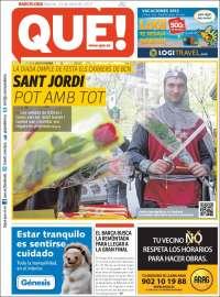 Portada de Qué - Barcelona (España)