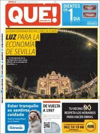 Portada de Qué - Sevilla (España)