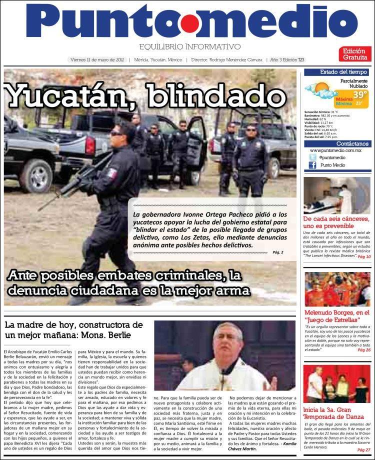 Portada de Punto • Medio (México)