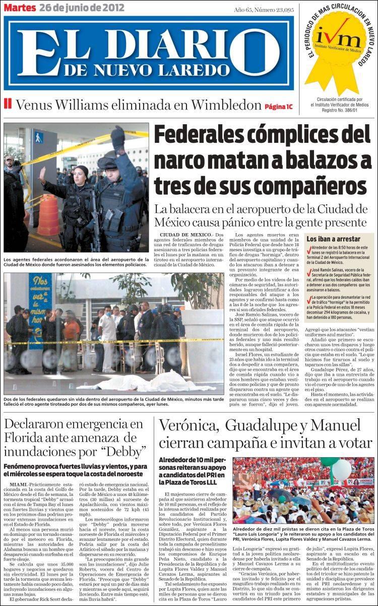 diario nuevo laredo: