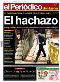 Portada de El Periódico de Huelva (España)