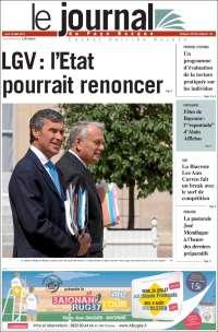 Portada de Le Journal du Pays Basque (Francia)