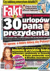 Portada de Fakt (Polonia)