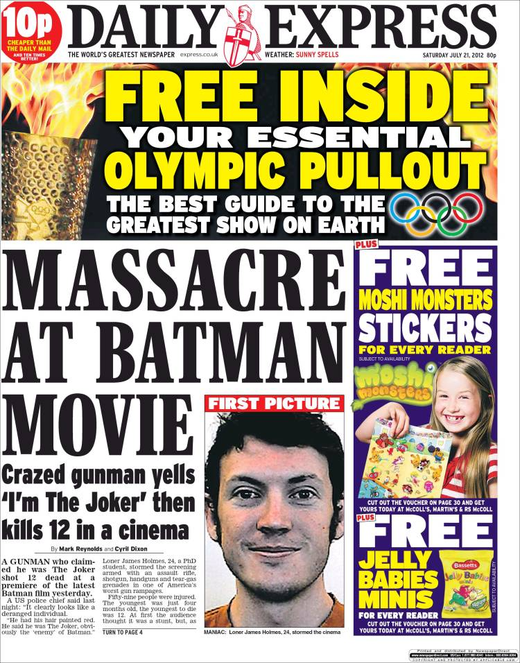 Newspaper Daily Express (United Kingdom). Newspapers in ... Daily Express
