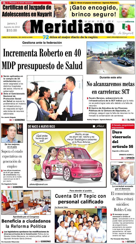 Noticias Nayarit Nncmx Meridiano Autos Post