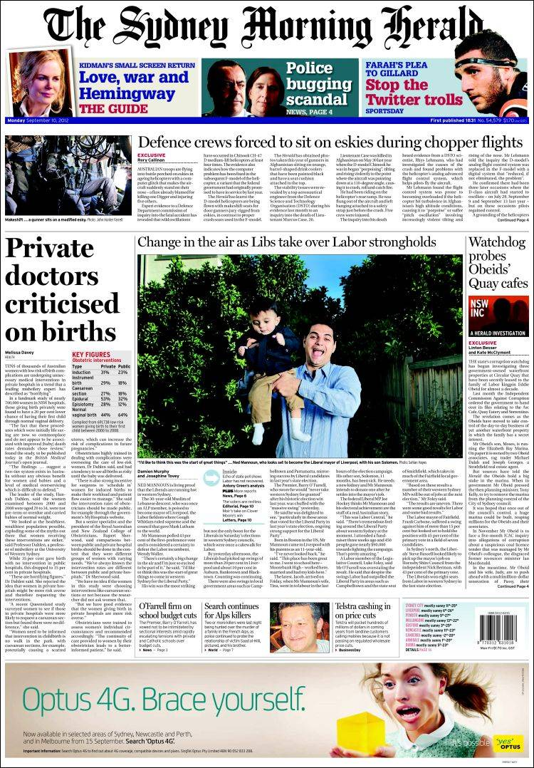 Private equity bids $5bn for Sydney Morning Herald owner