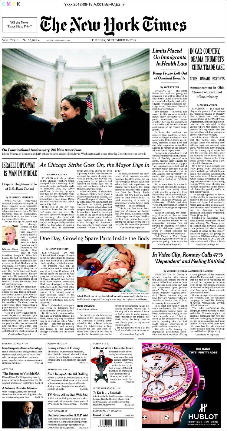 an analysis of a new york times paper Print vs online: how the print i was getting rid of my newsprint new york times because the dandy and linux that allows you to read the paper.