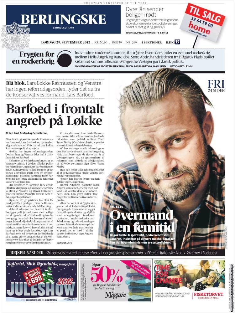 berlingske avis