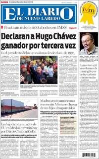 el manana de nuevo laredo tamaulipas: