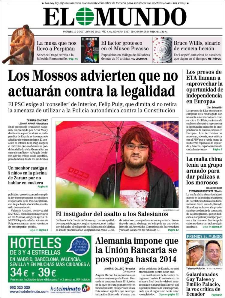 Represión Estudiantil en Extremadura Elmundo.750