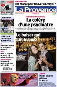 Journal le figaro france les unes des journaux de france dition du vendr - Le journal de la provence ...