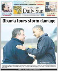 Portada de Daily Sun (Puerto Rico)
