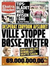 Portada de Ekstra Bladet (Dinamarca)