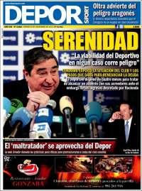 Portada de DEPORsport (España)
