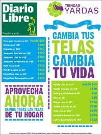 Portada de Diario Libre (R. Dominicana)