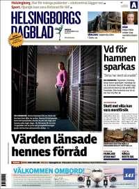 Portada de Helsingborgs Dagblad (Sweden)