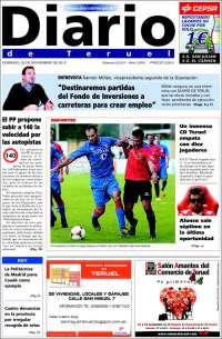 Portada de Diario de Teruel (España)
