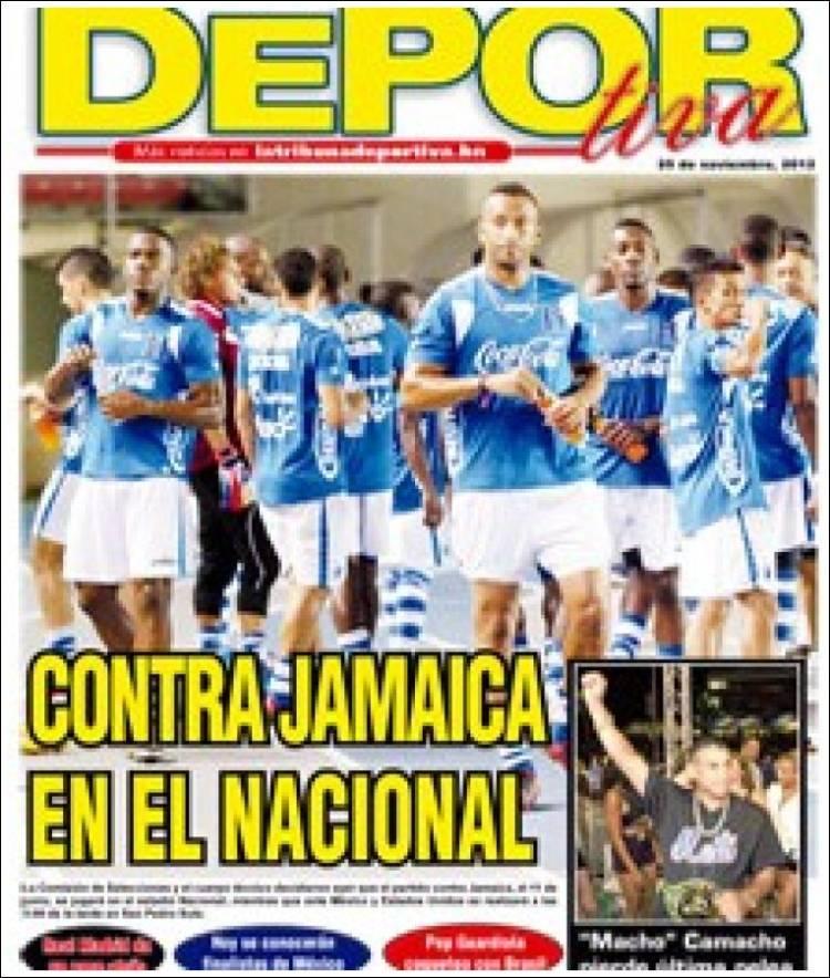 Portada de La Tribuna Deportiva (Honduras)