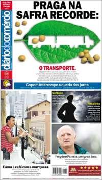 Portada de Diário do Comércio (Brasil)