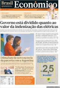 Portada de Brasil Econômico (Brasil)