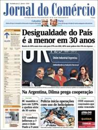 Portada de Jornal do Comércio (Brasil)