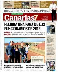 Portada de Canarias 7 - Lanzarote (España)