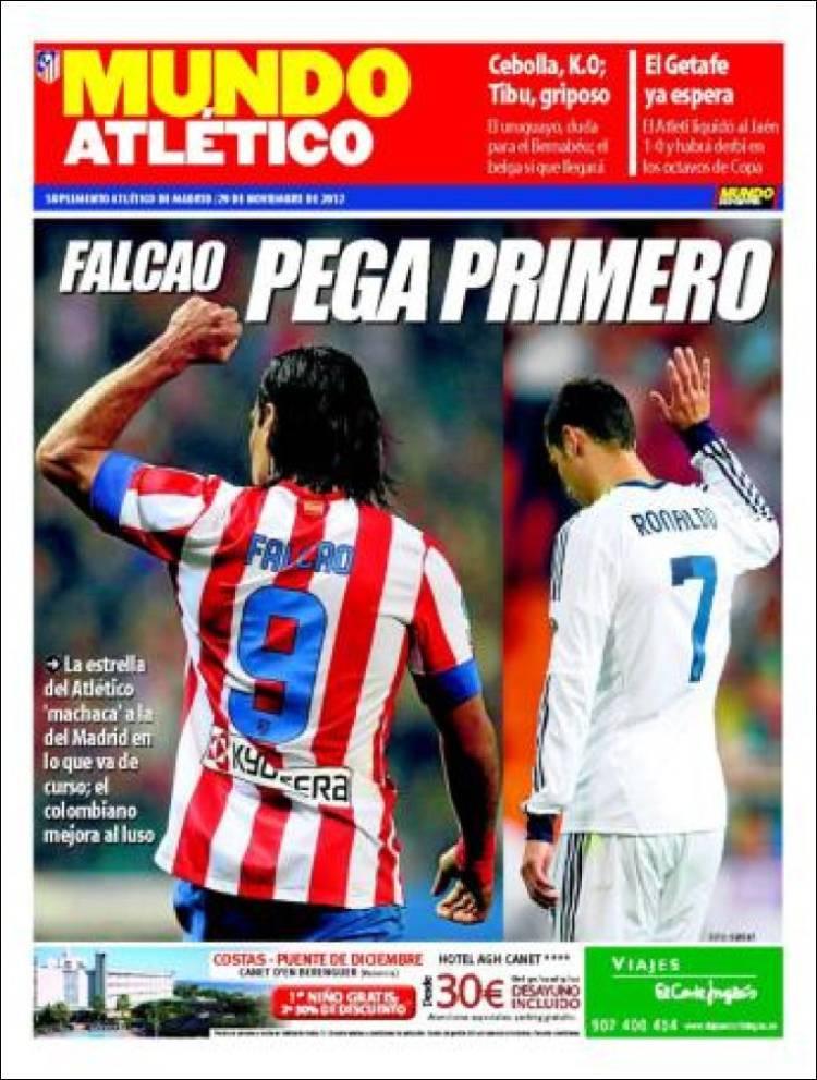 Portada de Mundo Atlético (España)