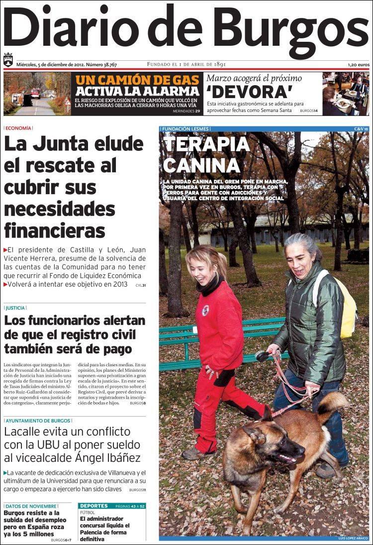 diario de burgos noticias: