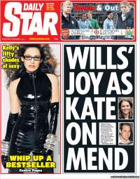 Portada de Daily Star (United Kingdom)